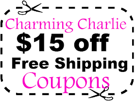 picture about Charming Charlie Printable Coupon identified as $20 Beautiful Charlie Coupon Code Might - June 2019