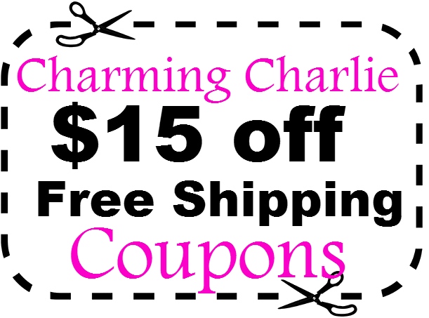 Charming Charlie Promo Code $15 off & Free Shipping Coupons & Cashback March, April, May, June, July, August 2016,2021