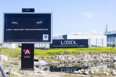 Audi LOOOOL Billboard