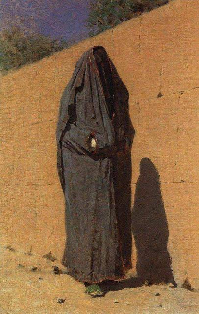 Василий Васильевич Верещагин - Узбекская женщина в Ташкенте. 1873