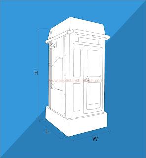 toilet portable biotech