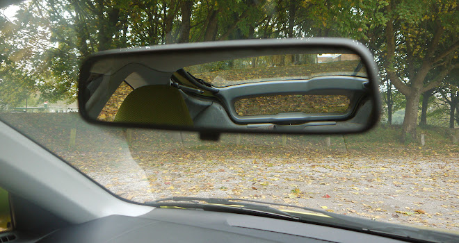 Original Honda Insight rear view mirror