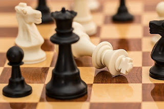 chess, defeat, win