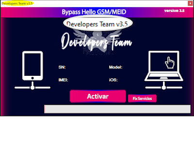 Download Developer Team Tool 3.5 Open Menu FMI OFF with a proxy for all activated devices