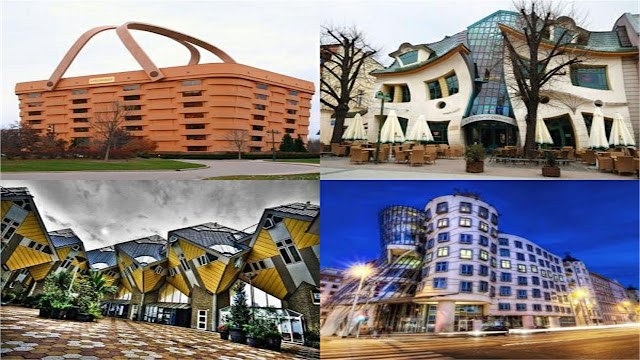 10 Most weird and strangest buildings of the world