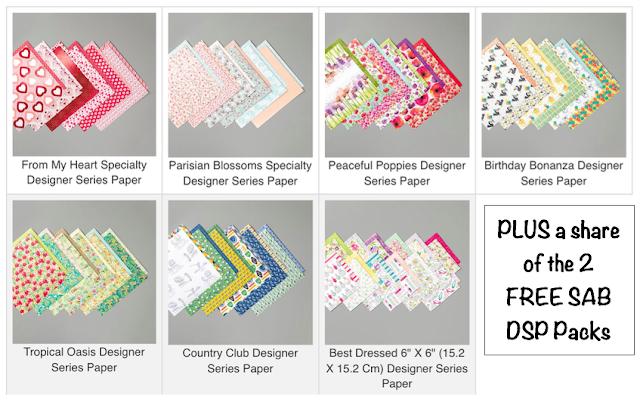 Nigezza Creates Stampin' Up! Paper & Ribbon Share
