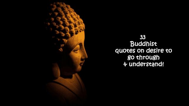 Buddhist quotes on desire