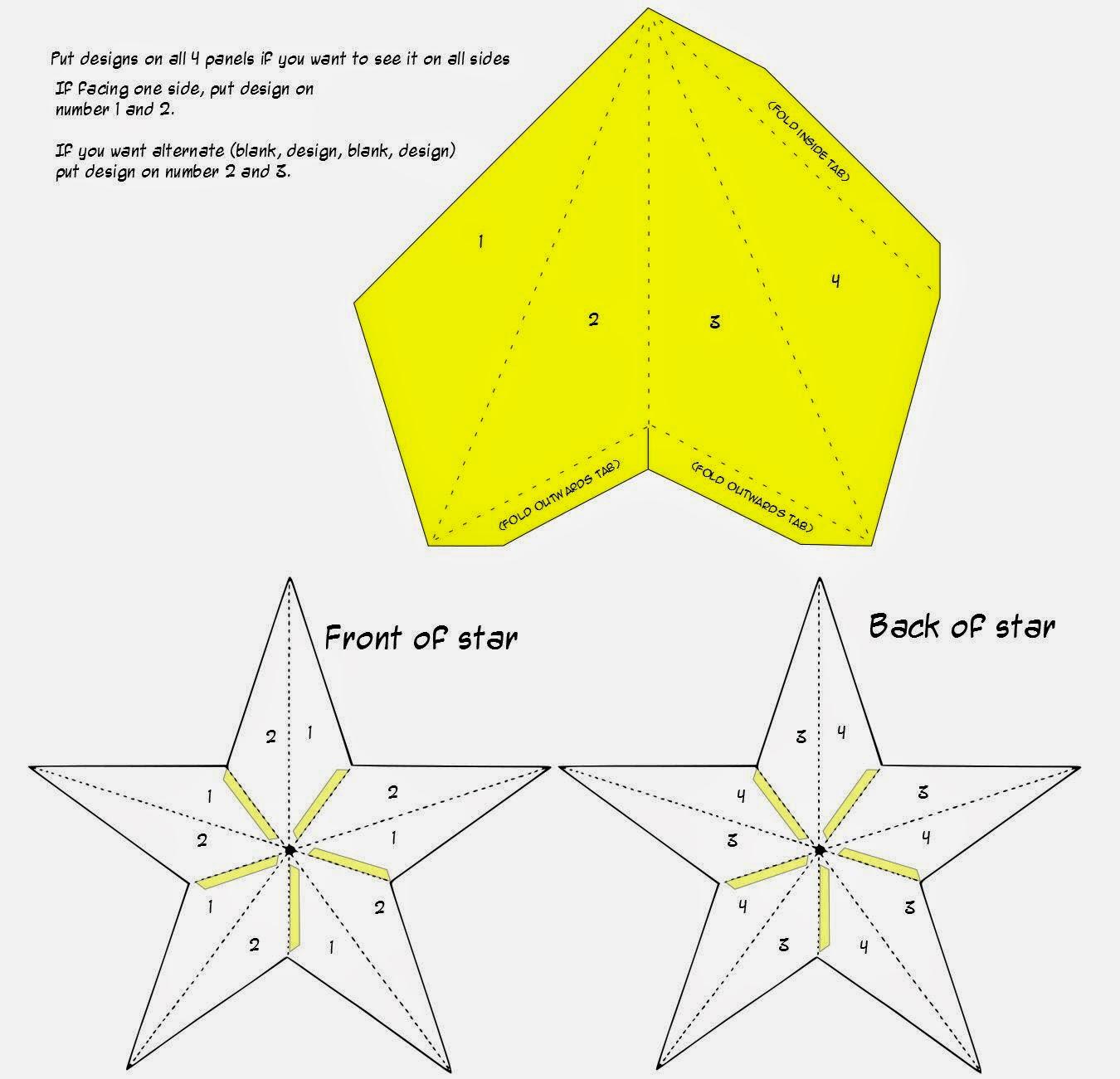 فانوس بشكل نجمة من الورق باترون Jpg 1350 1301 Winter Diy Ramadan Lantern Paper Art