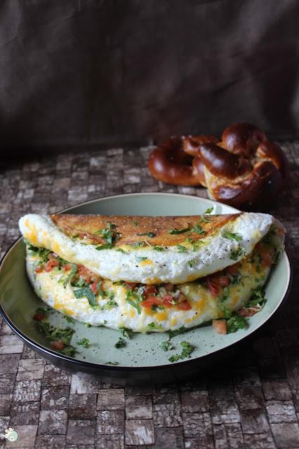 luftiges Omelette - wie Souffe