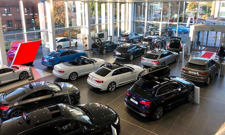 Đại lý ôtô bị ép bán xe trong thời gian phong tỏa