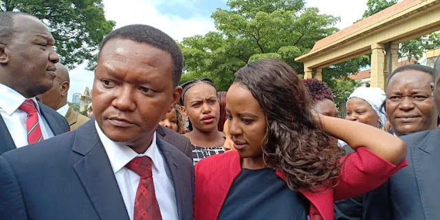 Machakos Governor Alfred Mutua