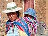 Bolivie Madre y hijo