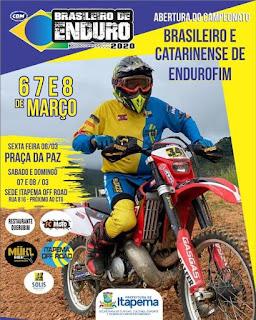 Brasileiro Catarinense de ENDURO FIM