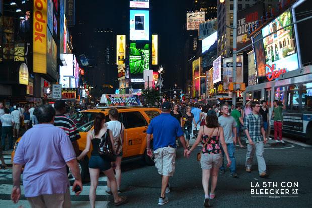 Fin de año en Nueva York Times Square