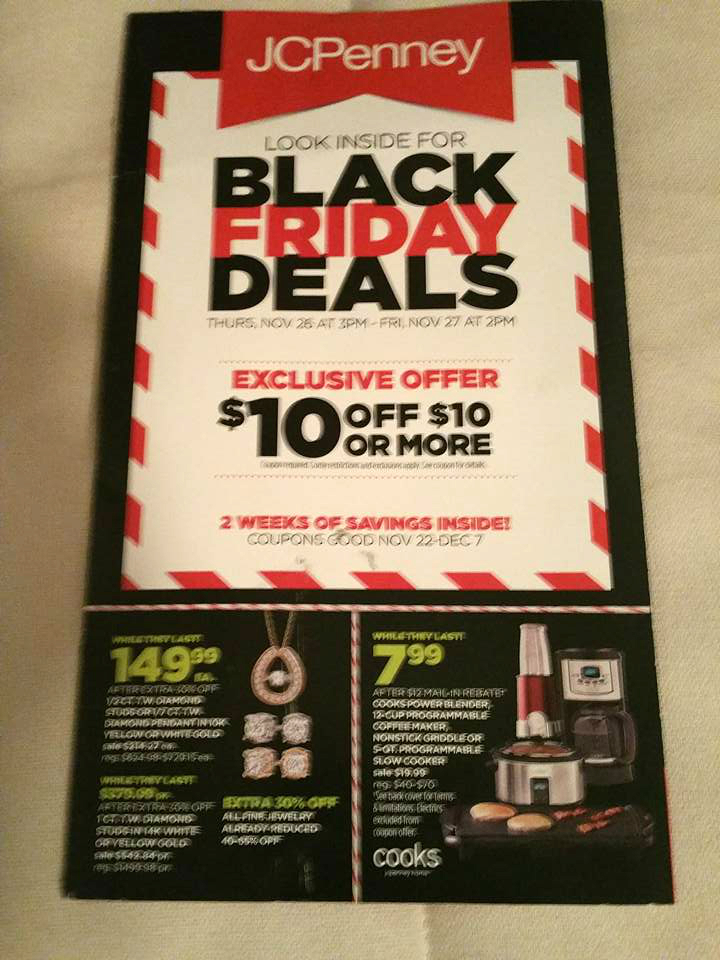View page JCPenney Black Friday Ad. See all JCPenney Black Friday deals & Store hours.