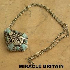 Turquoise necklace by Miracle Britain