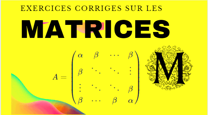exercices-corriges-les-matrices