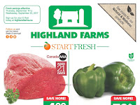 Highland farms flyer toronto valid September 14 - 20, 2017