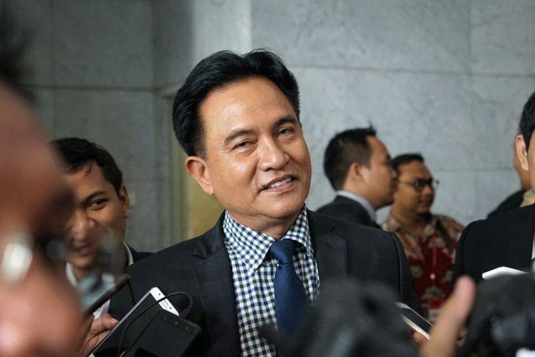 Masuk Tim Pakar Jokowi-Ma'ruf, Ini Alasan Yusril