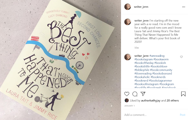 Instagram Post: The Best Thing That Never Happened To Me by Laura Tait & Jimmy Rice