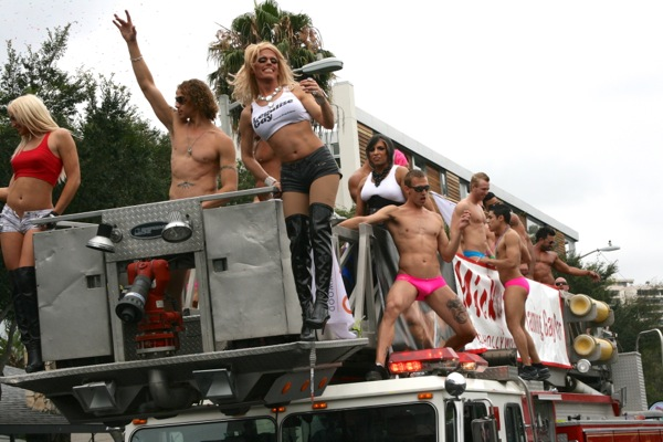 Mickys Firetruck Weho Pride 2011