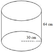 Contoh Soal Volume Tabung Matematika 6 SD