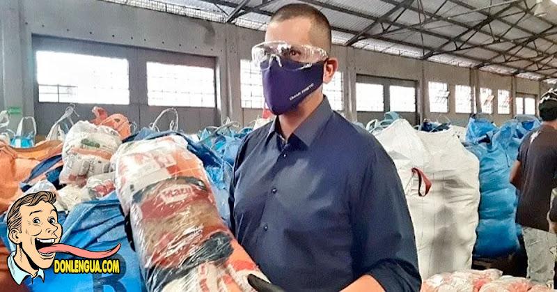 Llegaron 400.000 bolsas CLAP al estado Zulia - Alex Saab sigue ganando!