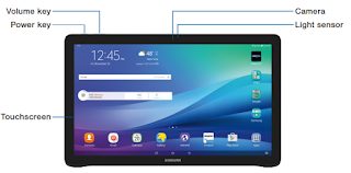 "Samsung Galaxy View 18.4"" (SM-T677AZKBATT) User Manual PDF download (English)"