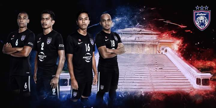 Jersi Baharu JDT Musim 2017/2018