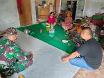 Anggota Satgas TMMD Lakukan Silaturahmi Terakhir Dalam Masa Penugasan TMMD