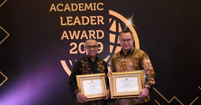 Rektor dan Dosen IPB Raih Academic Leader Award 2019
