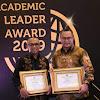 Rektor dan Dua Dosen IPB University Raih Penghargaan Academic Leader