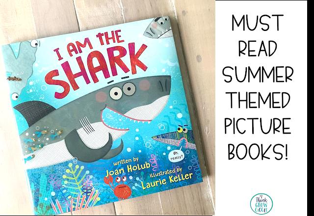 shark read aloud picture book