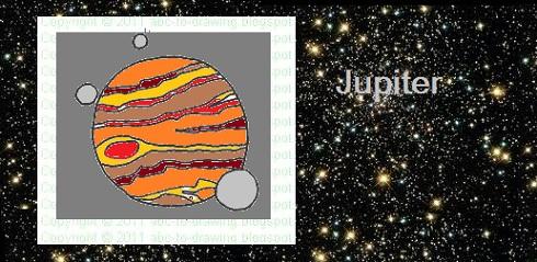 planet jupiter drawing - photo #40