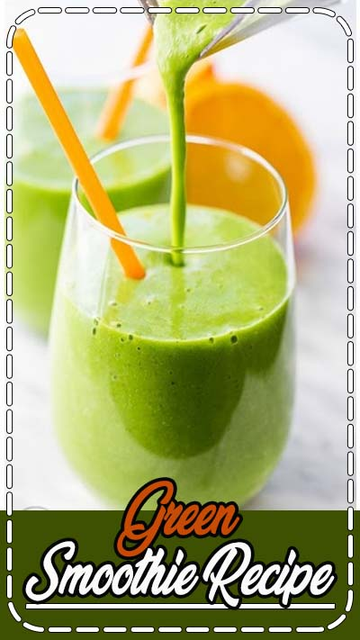 Our favorite Green Smoothie Recipe. It's a green power smoothie is what it is