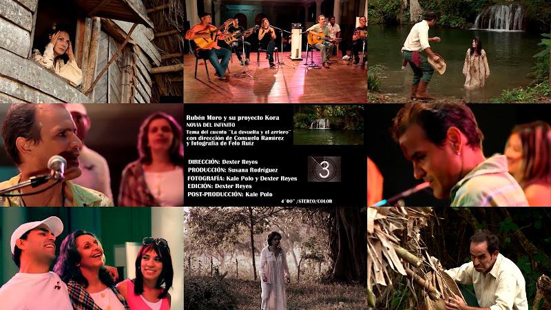 Rubén Moro y su Grupo Kora - ¨Novia del Infinito¨ - Videoclip - Director: Dexter Reyes. Portal Del Vídeo Clip Cubano