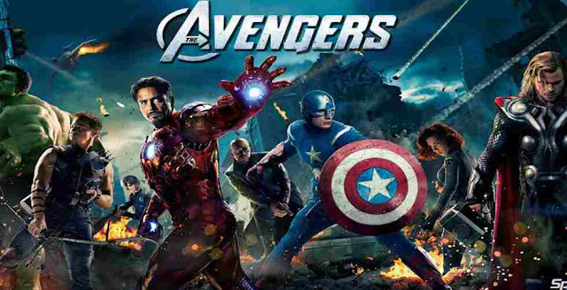 How many Avengers were shown in the first Avengers movie?