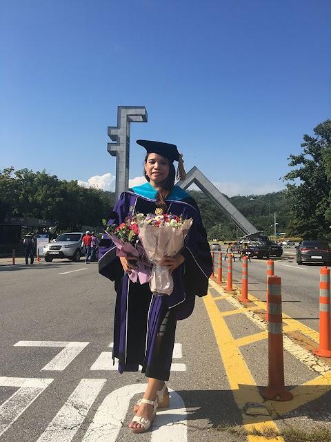 UP NISMED congratulates Dr. Sally Gutierez as an international Ph.D. graduate