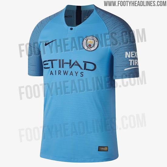 Last Made by Nike  Manchester City 18-19 Home 82c0d8274