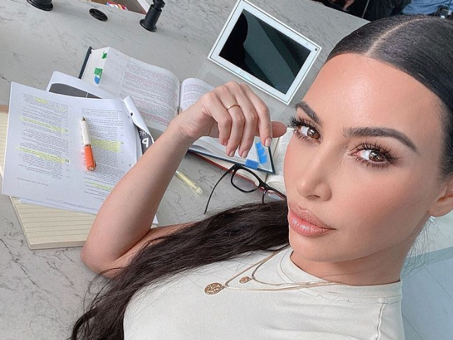 Kim Kardashian's Law Exam Surprise Party - Kim's Journey to Become a Lawyer - All the updates of show Keeping up with the Kardashian Episodes & News