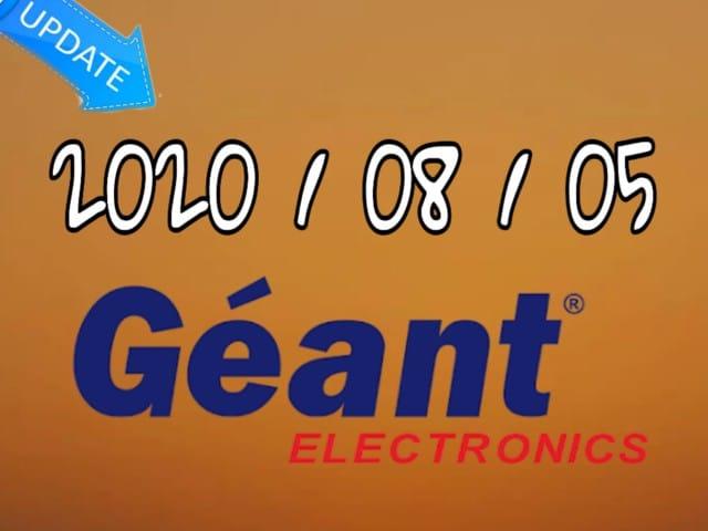 جديد الموقع الرسمي لأجهزة الجيون GEANT يوم 20200805