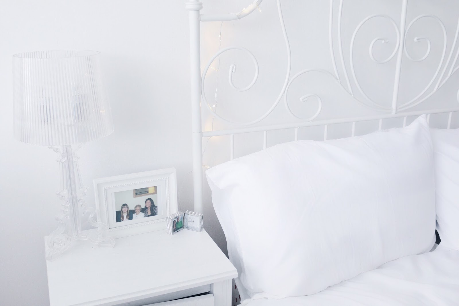 Home Decor, Lifestyle, Interior Design, Room Makeover, White Bedroom, Ikea, Prints, Silver, Metallic, H&M Home, Homeware, Bedroom Make over, Before and after, bedroom make over on budget, decorating, decorating on budget, the white company, ikea, marble, etsy, etsy uk
