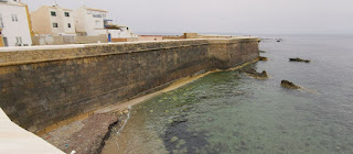 La Muralla de la Isla de Tabarca.