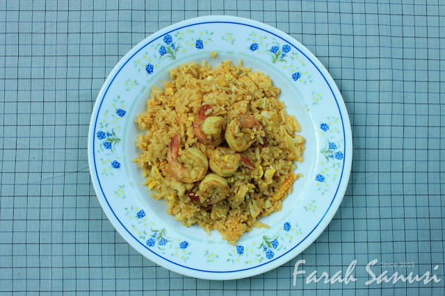 Resepi Nasi Goreng Tomyam Simple