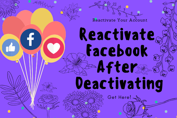 How To Reactivate Facebook Account<br/>