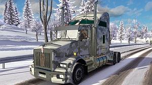 Winter Army Kenworth T800