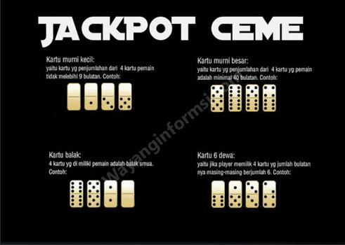 IDN Poker Jackpot Ceme