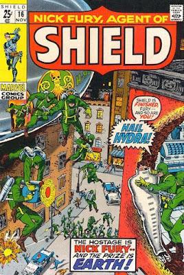 Nick Fury, Agent of SHIELD #16, Hydra