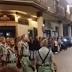 Graban a un legionario en estado de embriaguez en la semana santa de Antequera (Málaga)