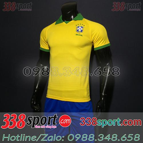 Áo Đội Tuyển Brazil Vàng 2019 2020 Sân Nhà